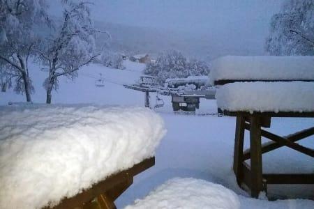 ÅPNET: Bjorli åpnet i helga. Foto: Bjorli Skiskole