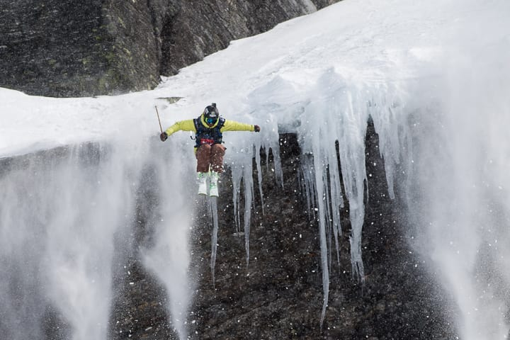 VANT: Sébastien Varlet  vant RFC 2016 i ski herre. Foto: Andreas Kalvik Anderson