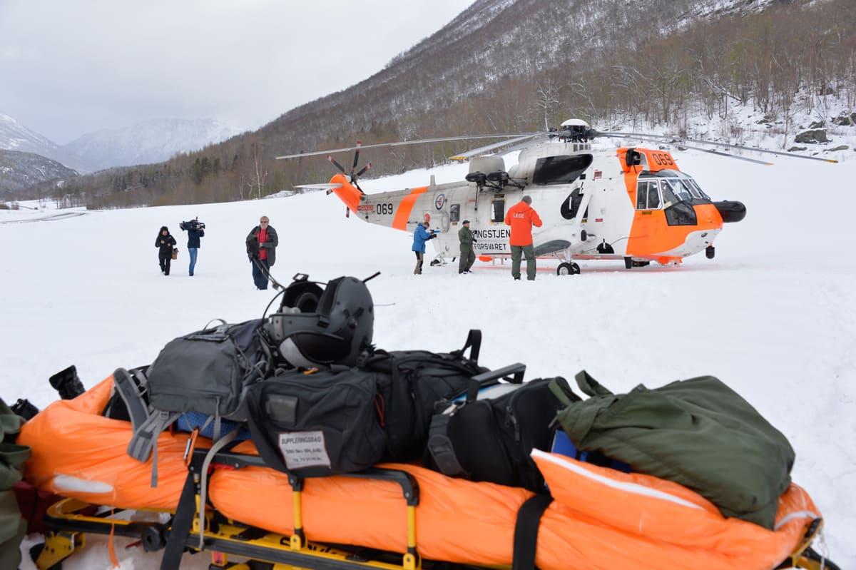 TRAGEDIE: Aldri før har det norsk toppturmiljøet blitt rammet like hardt som i påska i fjor, da fire personer omkom i et skred på Nordmøre. Foto: Ludvig Killingberg