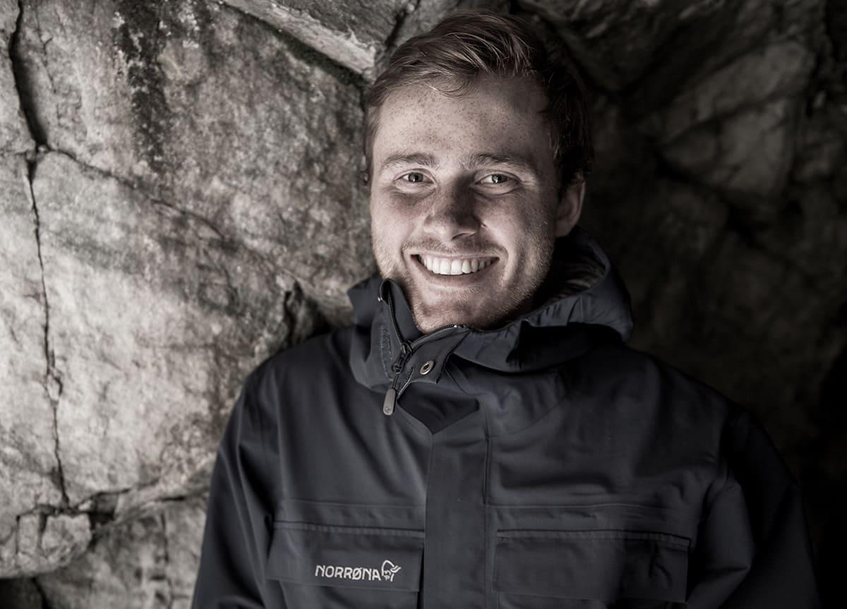 HOVEDPROFIL: Nikolai Schirmer er hovedprofil i det nyeste Fri Flyt-nummeret.