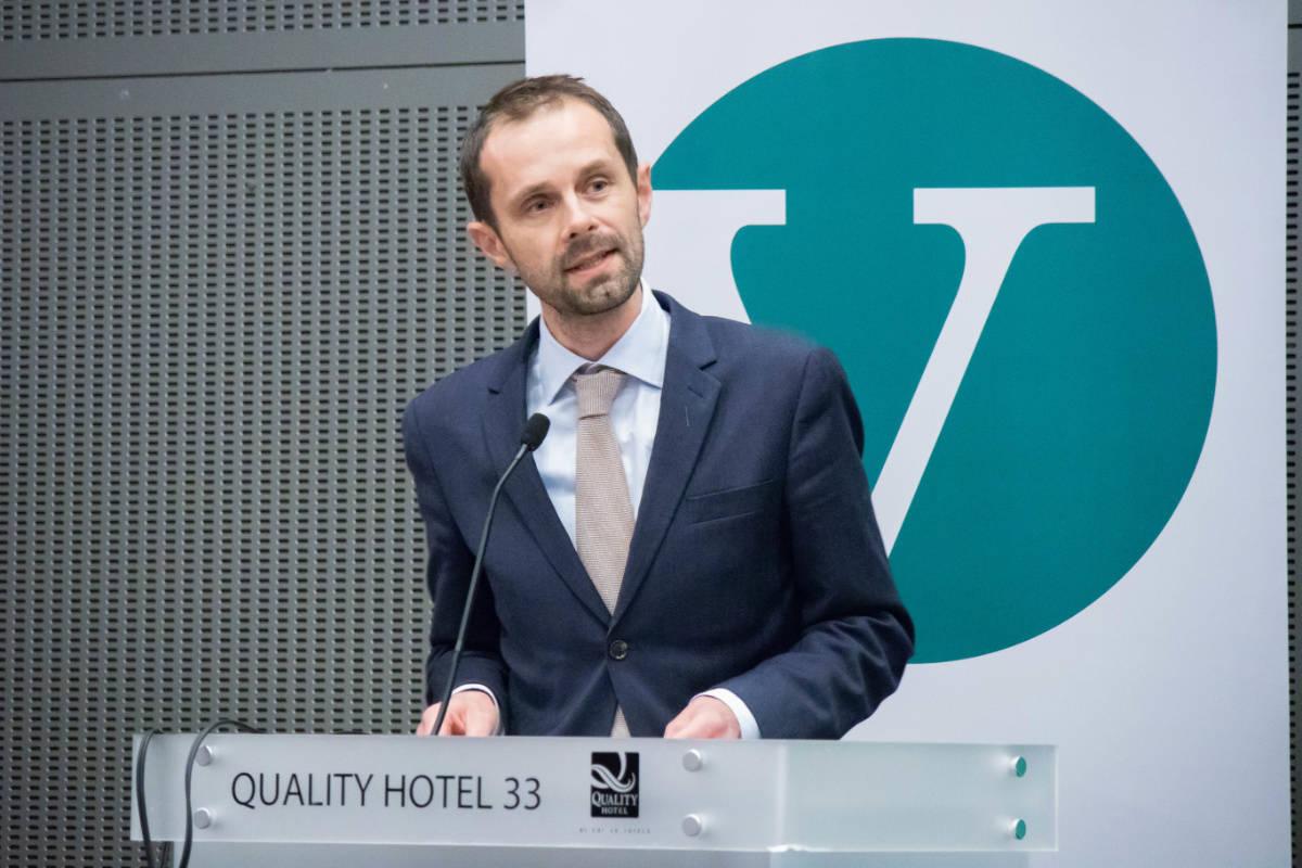 GARANTEER STØTTE: Hallstein Bjercke (V) garanterer støtte til X Games i Oslo dersom de vinner valget. Foto: Venstre