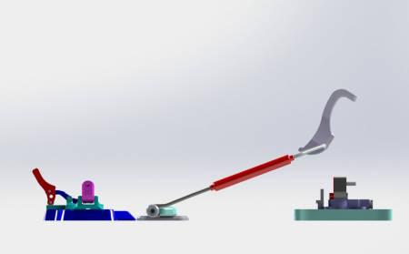 NYHET: Bjarte Hollevik mener hans nye binding er verdens letteste telerandobinding. Det fins ikke bilder av bindingen ennå, men denne tegningen er det nærmeste vi kommer.