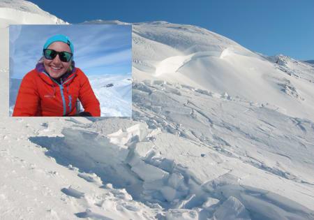 NY TJENESTE: NVE og Varsom.no oppfordrer folk til å sende inn sine erfaringer fra nestenulykker i snøskred i vinter. – Målet er å lære av uhellene, ikke å fordele skyld, sier Birgit Rustad i NVE (innfelt).