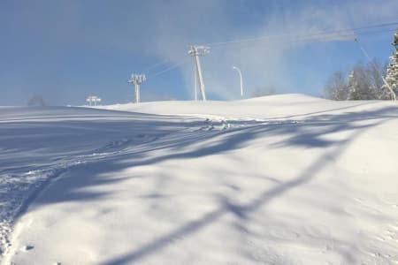 TBANE: Vil det bli mulig å nyte nysnøen i Tryvann med kollektivtrafikk? Foto: Oslo Vinterpark