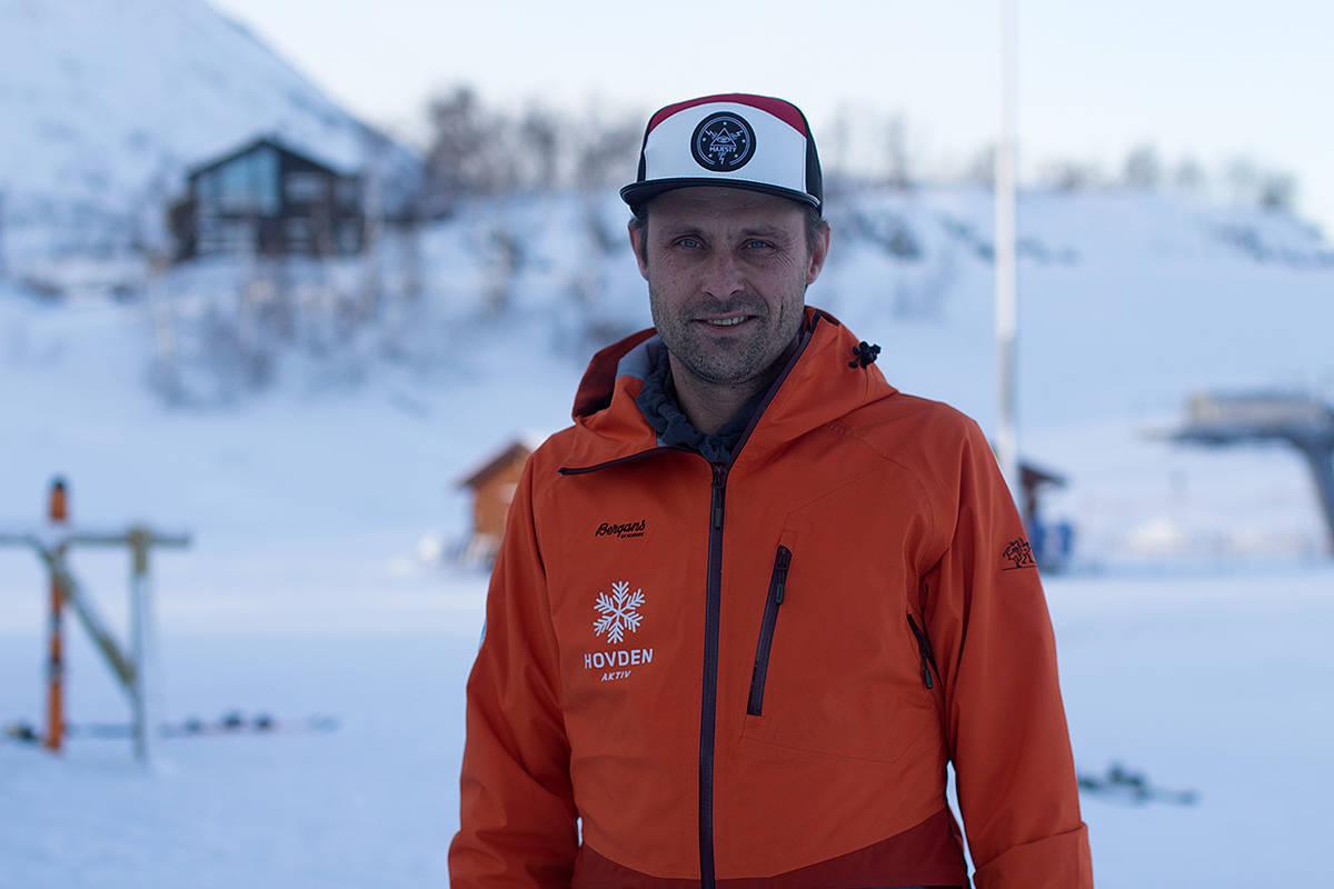 FORNØYD: Rennleder Pål Berntzen strålte etter vel gjennomført konkurranse. Foto: Anders Holtet