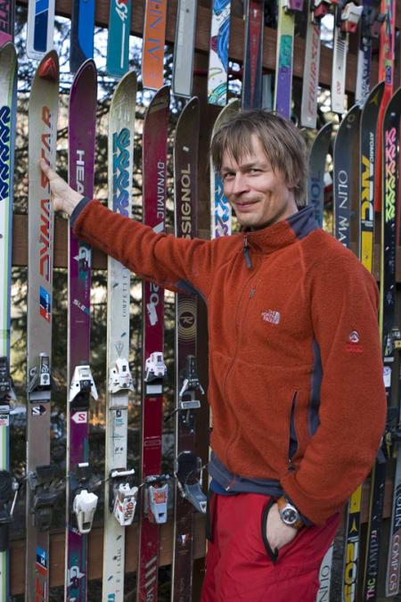 TRØNDERENTUSIAST: Erik Aalde går i bresjen for utbygging av Gråkallen Vinterpark. Foto: Fri Flyt Arkivet