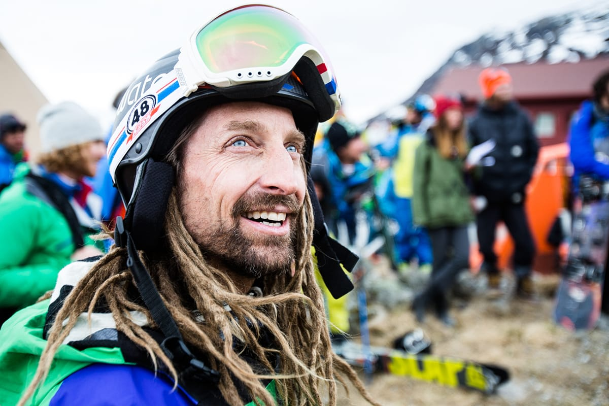 KAJ: Under årets Film Tour kan du bli den heldige vinneren av en tur med frikjøringslegenden Kaj Zackrisson. Foto: Christian Nerdrum