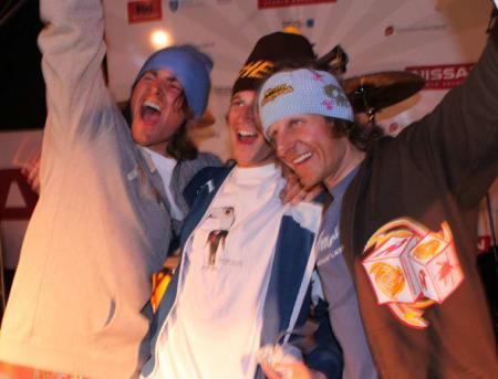 Ski herrer, f.v. Risvoll, Vole, Hausl