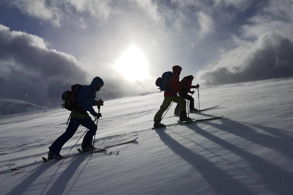 Hemmestadfjellet Kvæfjord skibilde
