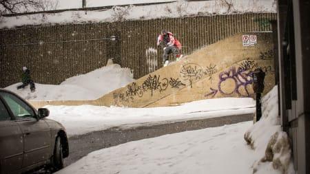LEGENDE: Corey Vanulars vanvittige skikjøring som var laaaaaaangt forut for sin tid må få litt av æren for at Level1 er tøft. Foto: Erik Seo