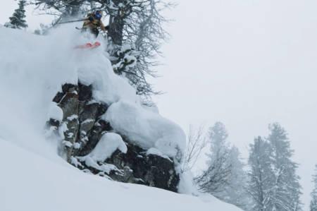 NY SKIFILM: Se Michelle Parkers ny skifilm her. Foto: Skjermdump