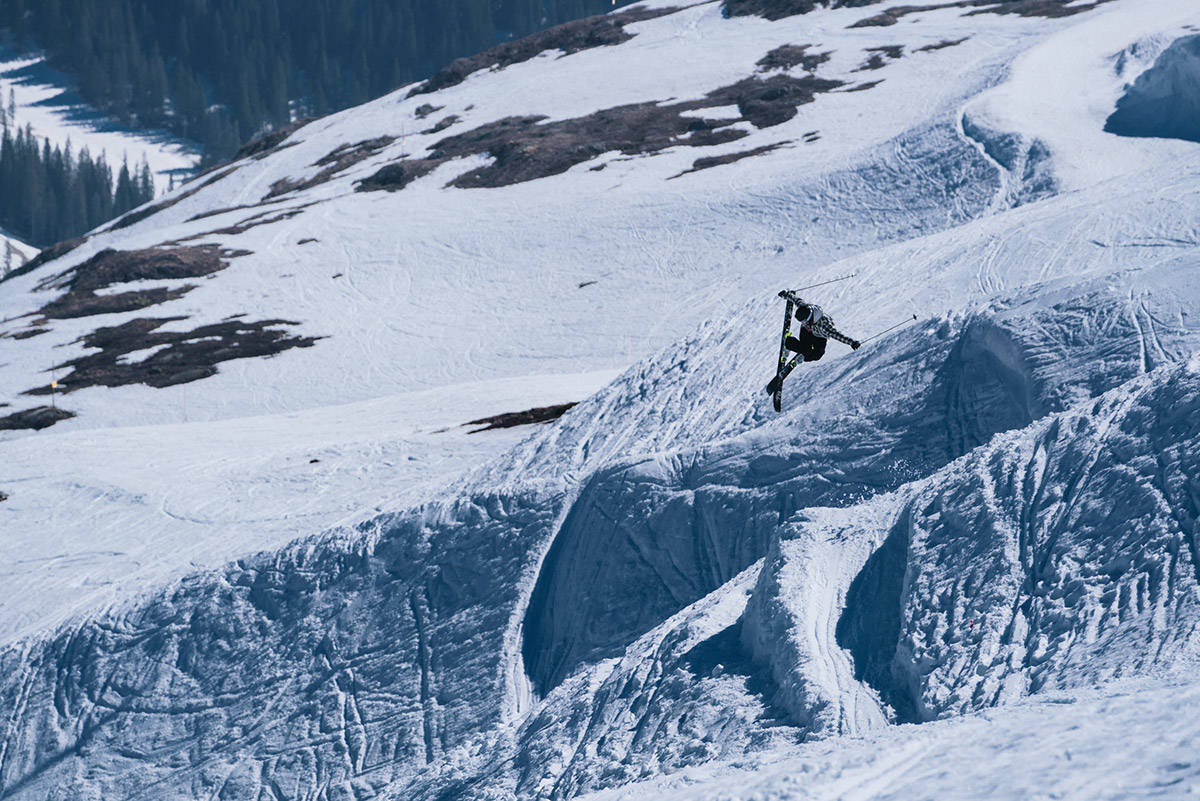 SKIFILM: Se Carl Regnèrs nyeste skifilm. Foto: Emrik Jansson
