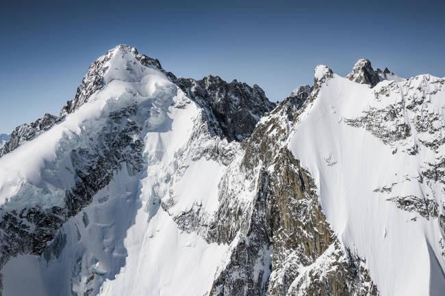 Episk brattkjøring på Mont Blanc - helt gratis
