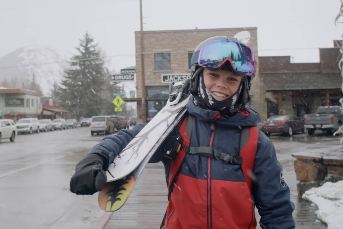 KAI JONES: 12-åringen leverer en part av de sjeldne. Foto: Skjermdump