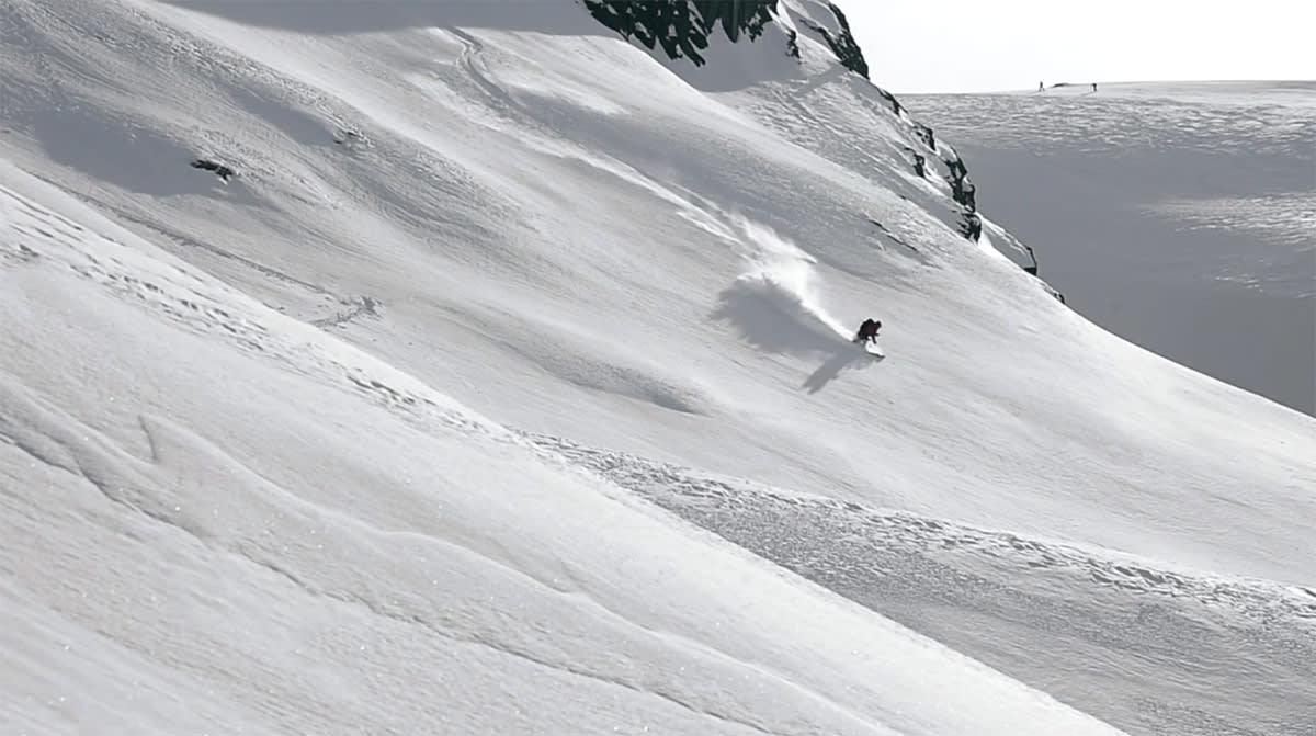 FRANKRIKE: Chad Sayers er i Chamonix i nyeste episode av webserien Backstories.