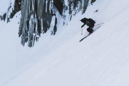 Jacob Wester i Chamonix