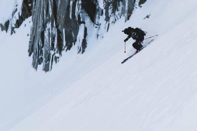 Går viralt med Chamonix-filmer