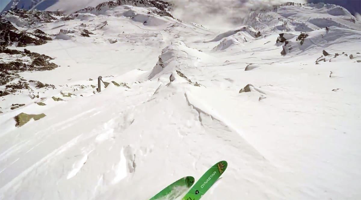 ALASKA: I den første episoden av webserien er Wille i Alaska. Foto: Skjermdump