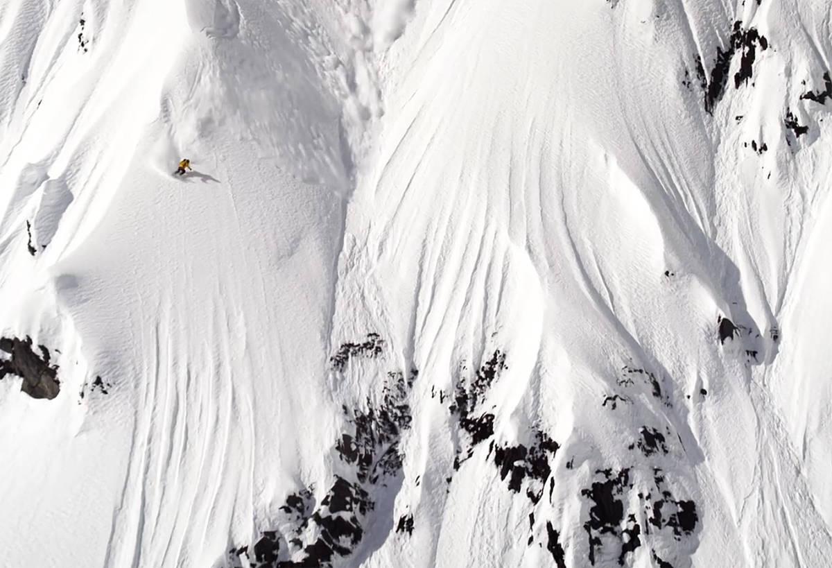 HJEMMEBANE: Eric Hjorleifson er best i store fjell, men han er ikke bortreist i terrengparken heller.