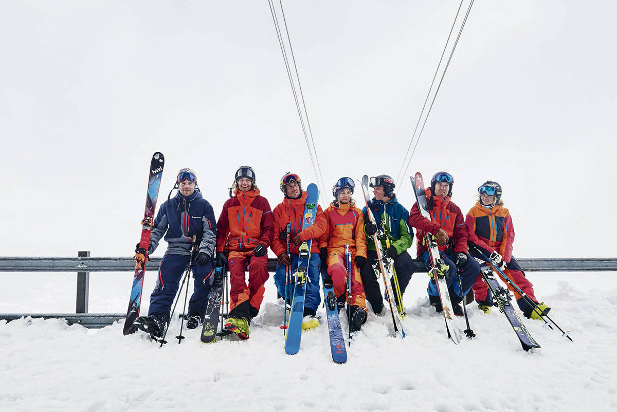 LAG: Peak dro til Åre for litt real teambuilding. Foto: Peak