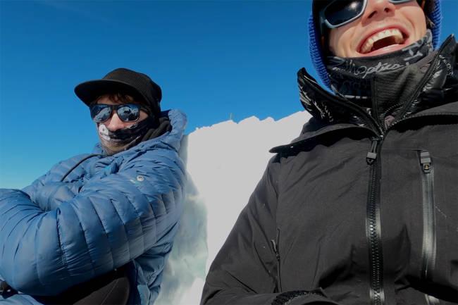 Så glad blir du når du endelig får kjøre ski i koronakrisen