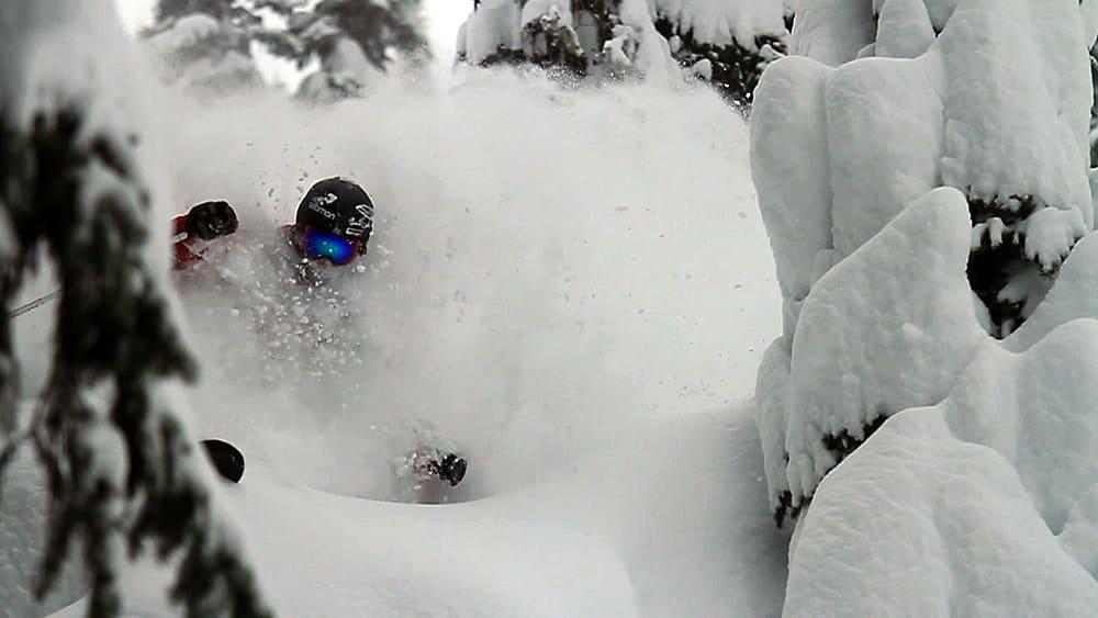 STORM: Når amerikanerne snakker om «storms», da mener de gjerne enorme snøfall. Og det liker vi!