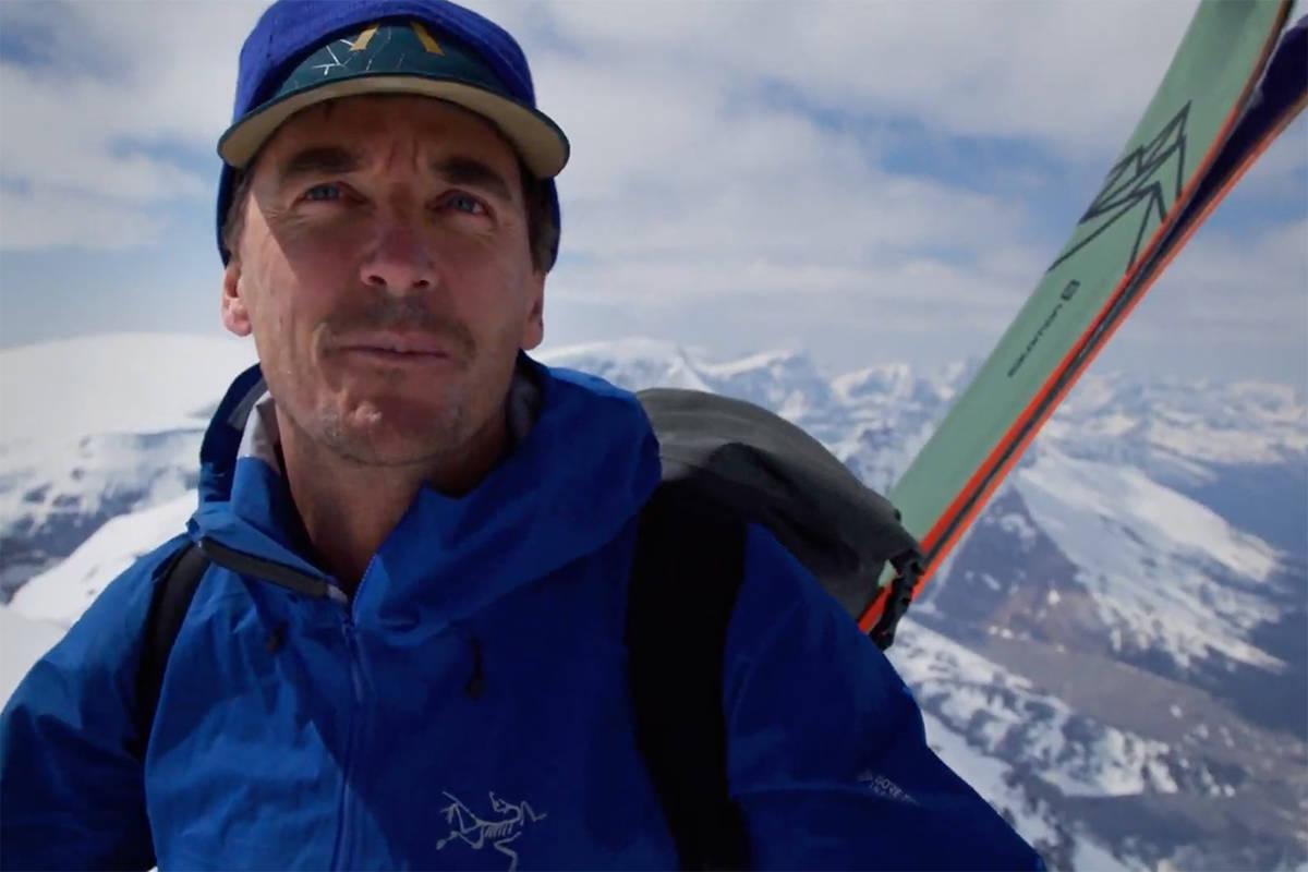 GREG HILL: Super-toppturisten Greg Hill har sett klimaendringene på nært hold. Nå vil han gjøre noe selv. Foto: Skjermdump/Salomon