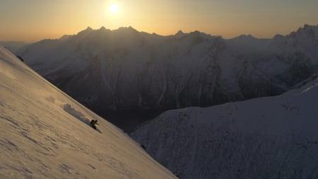 DENNE GANG: Andreas Fransson kjører store fjell på Sunnmøre.