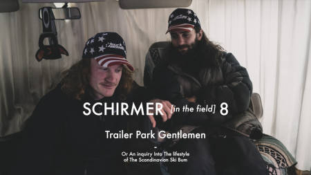 SCANDINAVIAN PRIDE: Nikolai Nygaard og Vebjørn Enersen er skibomser i Canada denne vinteren. Foto: Nikolai Schirmer