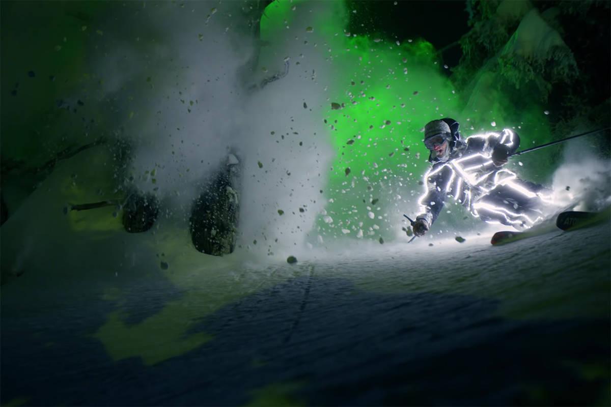 SKIFILM: Se Chris Benchetler nyeste skifilm. Foto: Skjermdump