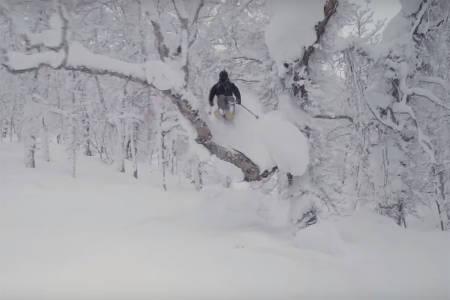 NY FILM: Eric Pollard, mannen blant flere kjente Line-ski, har laget ny film. Foto: Skjermdump/Nimbus
