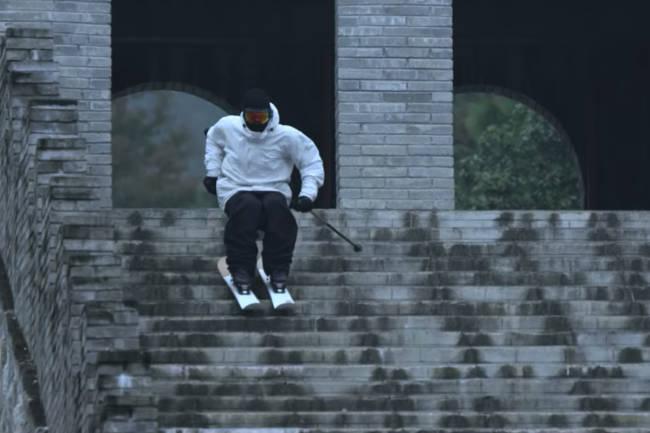 Se hvordan Candide Thovex fikk klippene fra den kinesiske mur