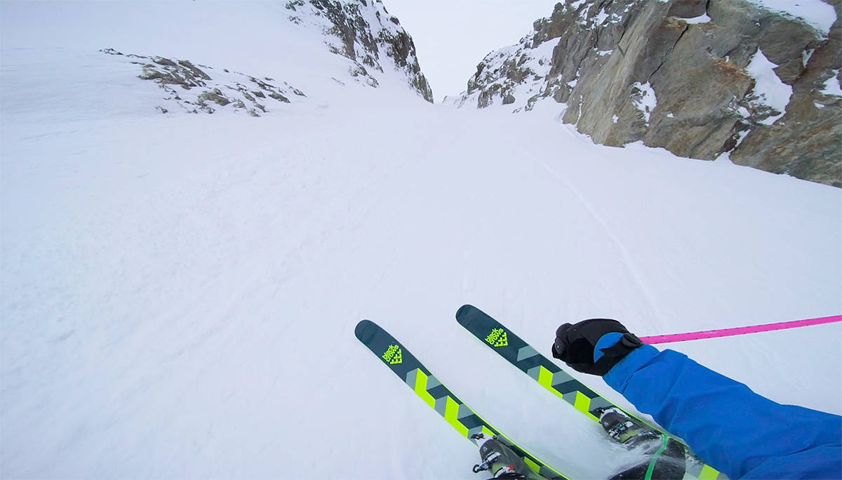 POV: Se Nicolai Schirmers sesong fra hjelmkamera-perspektiv. Foto: Skjermdump