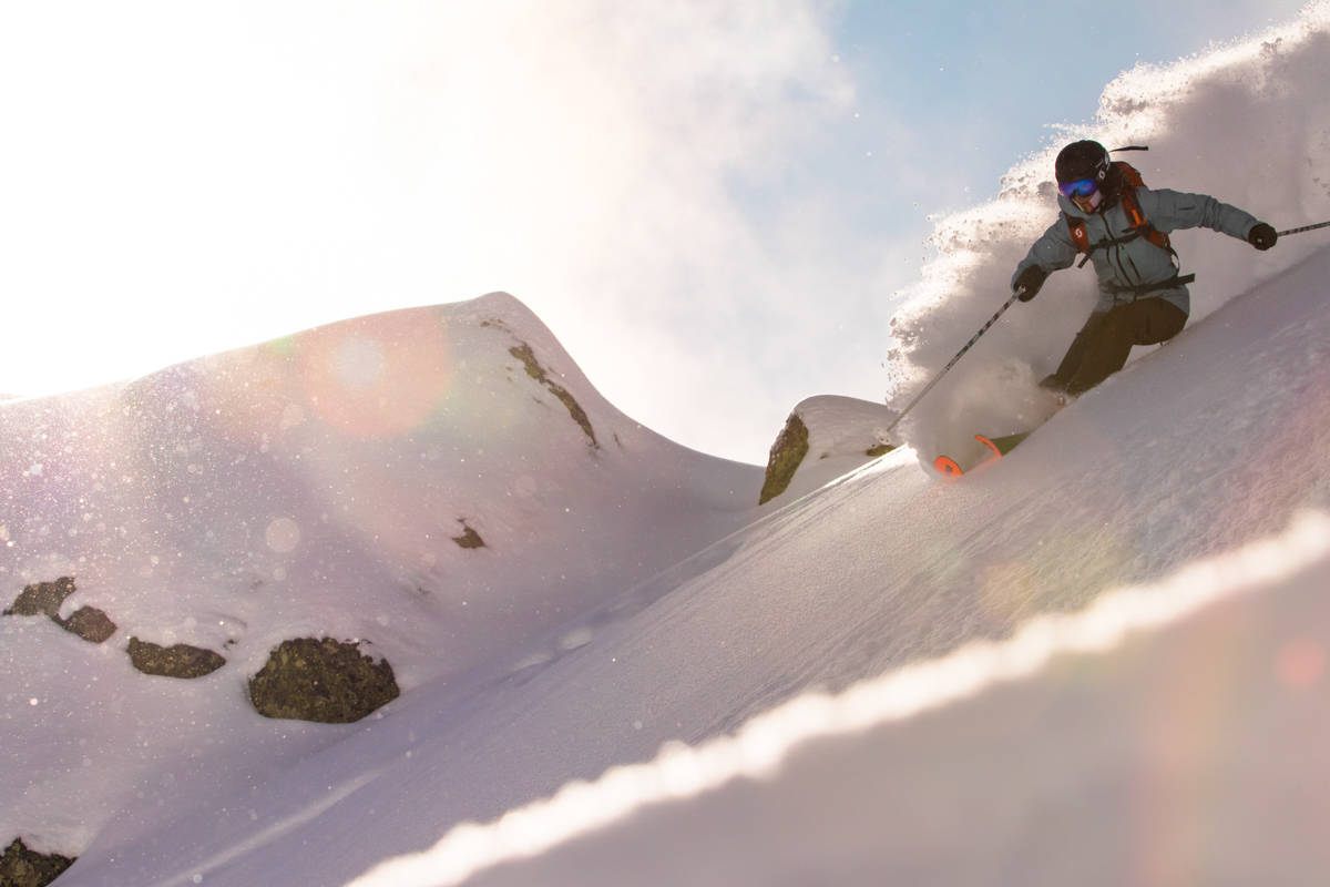 NY SKIFILM: Eva Walkner og Jackie Paaso har lansert sin nyeste skifilm, «Evolution of Dreams». Den ser du her. Foto: Hans-Martin Kudlinski