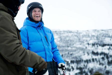 AKTIV: Andreas Håtveit er fremdeles aktiv på ski, og blir stadig bedre. Foto: Thomas Kleiven