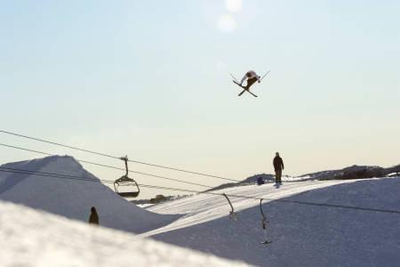 OL-HÅP: Birk Ruud er en av seks-sju utøvere som kjemper om fire plasser i OL-troppen. Foto: Luke O. Allen/Skiforbundet