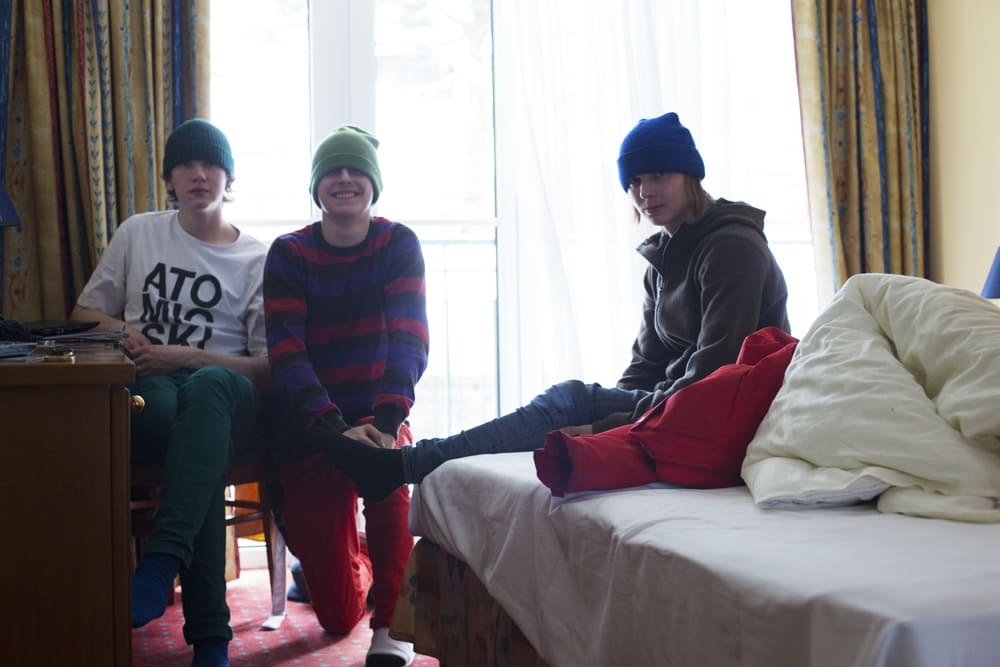 REAL SKIFI: Disse gutta lager urban-edits som overgår det aller meste! Foto: Andreas Løve Storm Fausko