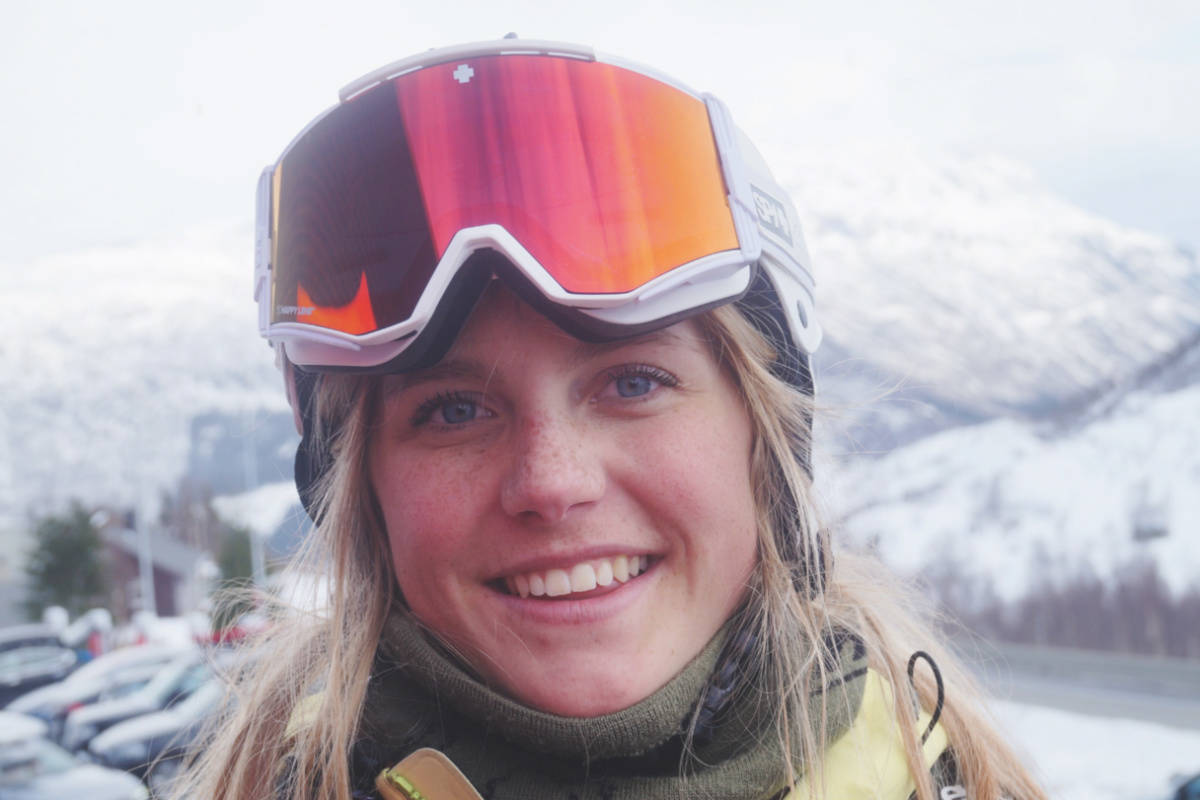 SEIERSVANT: I fjor vinter vant Emma Suphammer to av de tre junior-frikjøringskonkurransene hun stilte opp i, som her i Røldal. Foto: Oddvar Bratteteig