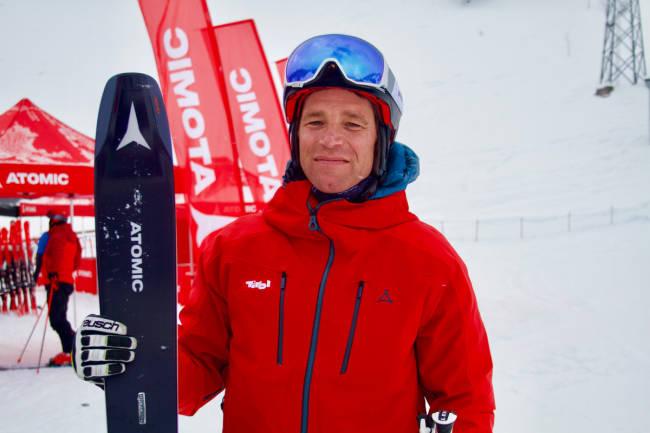 En skidag med superstjernen Benjamin Raich