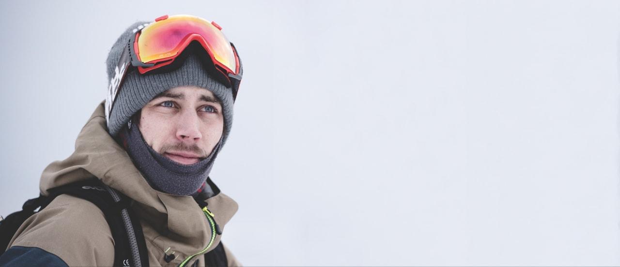 GJENLEVENDE: Erik Naess har kjørt skikonkurranser i over 15 år. Foto: Martin I. Dalen