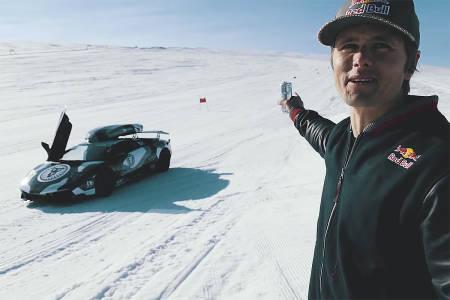 jon olsson folgefonna lamborghini lambo råning glacier supercar sportsbil