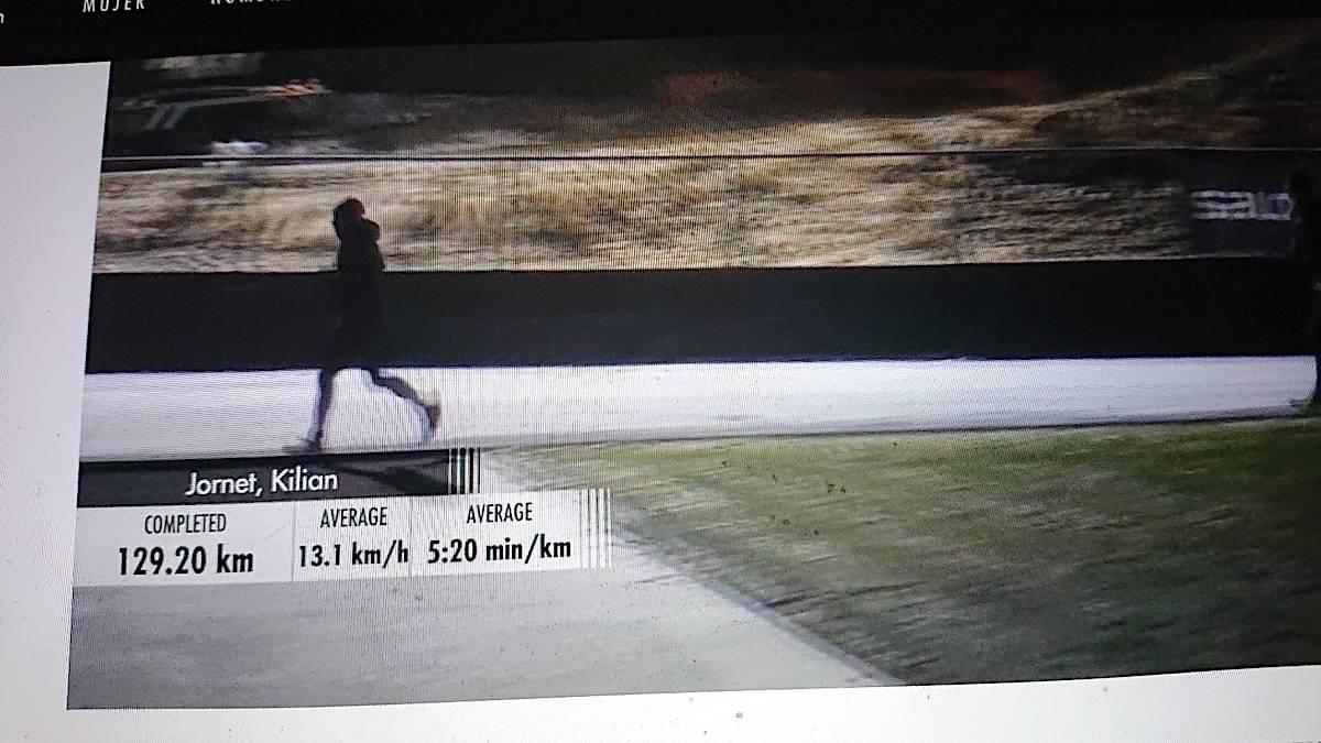 Kilian Jornet Måndalen verdensrekordforsøk 24 timer