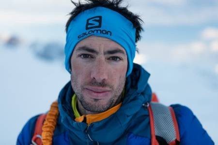 VENTER PÅ VÆRET: Kilian Jornet og David Goettler venter på det perfekte værvinduet for å prøve seg på Everest og Lhotse-traversen. Foto: Matti Bernitz