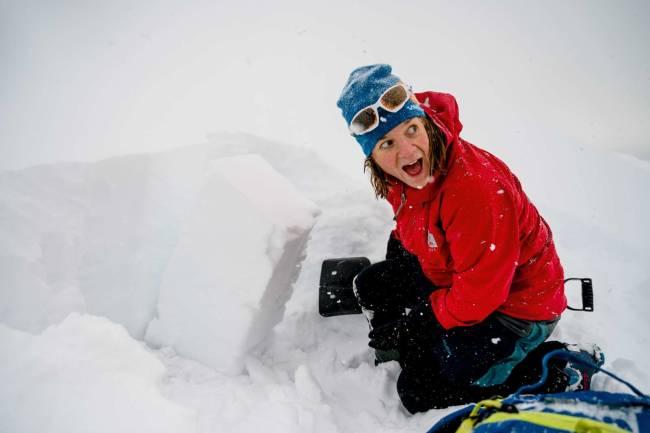 Marit Svarstad Andresen lever for at du ikke skal havne i snøskred
