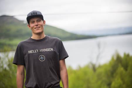 HJERTET STOPPET: Øystein Aasheim er en av Norges beste frikjørere. Her er historien om hva som skjedde da hjertet hans stoppet uten forvarsel i april. Foto: Tore Meirik