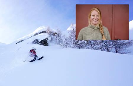 RÅSKALLE: Ida kjører fletta av de fleste på ski. Foto: Johanne Askim Adde og Martin Innerdal Dalen.