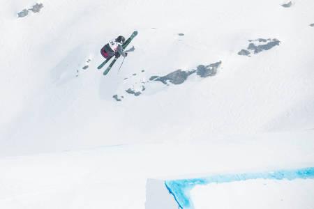 TALENT: Johanne Killi i en switch 540. Foto: Tore Meirik