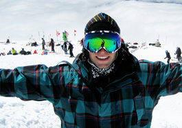 I JUNAITEN: Andreas Wiig var på snowboardcamp i Mt. Hood tidligere i sommer.