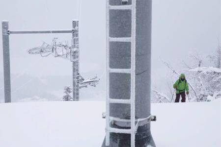Skianlegg i Norge alpene og USA