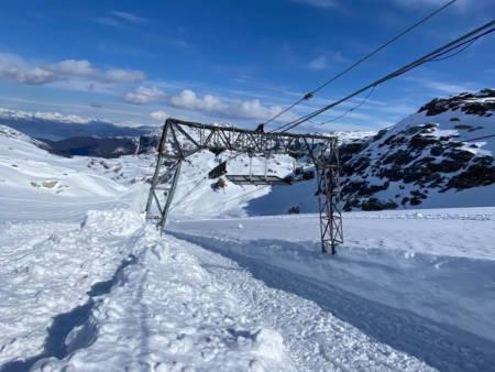 KLART FOR ÅPNING: 8. mai åpner sommerskisenteret på Folgefonna for sesongen. Foto: Fonna Glacier